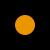 Negro y naranja